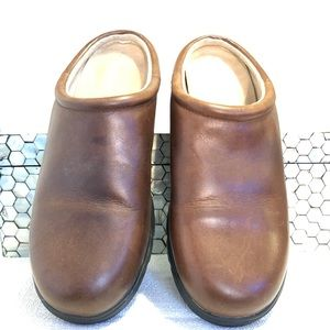 Timberland leather mules